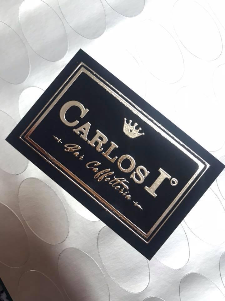 Biglietto da visita - Carlos I (fronte)