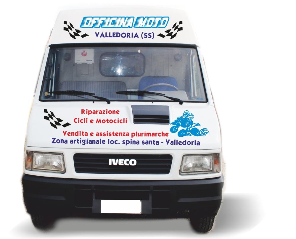 Personalizzazione adesiva per automezzo aziendale - Pubbli.com di Michele Calbini