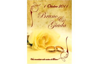 Etichetta per il vino degli sposi - Pubbli.com di Michele Calbini